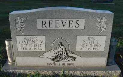 REEVES, RUTH L. - Douglas County, Nebraska | RUTH L. REEVES - Nebraska Gravestone Photos