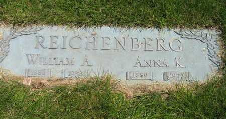 REICHENBERG, WILLIAM A - Douglas County, Nebraska | WILLIAM A REICHENBERG - Nebraska Gravestone Photos