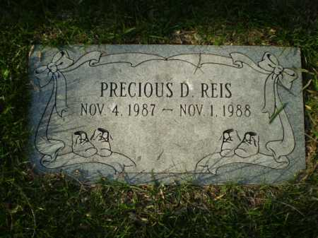 REIS, PRECIOUS DESIREE - Douglas County, Nebraska | PRECIOUS DESIREE REIS - Nebraska Gravestone Photos