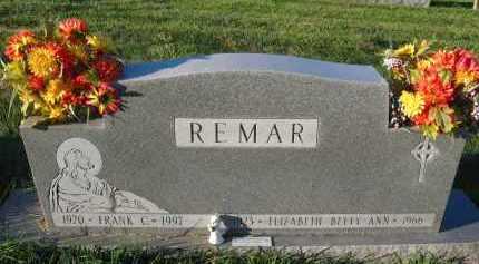 REMAR, FRANK C - Douglas County, Nebraska | FRANK C REMAR - Nebraska Gravestone Photos