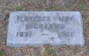 RICHARDS, FLORENCE - Douglas County, Nebraska | FLORENCE RICHARDS - Nebraska Gravestone Photos