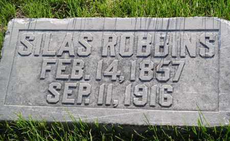 ROBBINS, SILAS - Douglas County, Nebraska   SILAS ROBBINS - Nebraska Gravestone Photos
