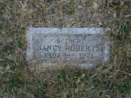 ROBERTS, NANCY - Douglas County, Nebraska   NANCY ROBERTS - Nebraska Gravestone Photos