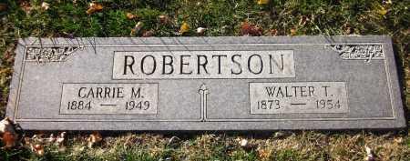 ROBERTSON, CARRIE M. - Douglas County, Nebraska | CARRIE M. ROBERTSON - Nebraska Gravestone Photos