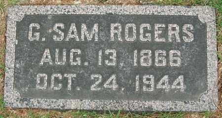 ROGERS, G. SAMUEL - Douglas County, Nebraska | G. SAMUEL ROGERS - Nebraska Gravestone Photos
