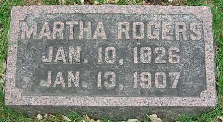 ROGERS, MARTHA - Douglas County, Nebraska | MARTHA ROGERS - Nebraska Gravestone Photos
