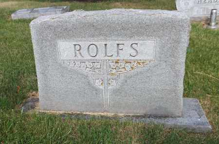 ROLFS, FAMILY - Douglas County, Nebraska   FAMILY ROLFS - Nebraska Gravestone Photos