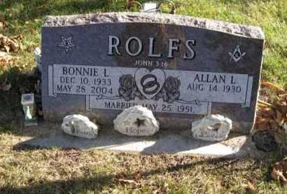 ROLFS, BONNIE L - Douglas County, Nebraska   BONNIE L ROLFS - Nebraska Gravestone Photos