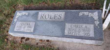 ROLFS, HELENA - Douglas County, Nebraska   HELENA ROLFS - Nebraska Gravestone Photos