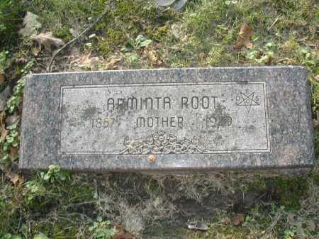 ROOT, ARMINTA - Douglas County, Nebraska | ARMINTA ROOT - Nebraska Gravestone Photos