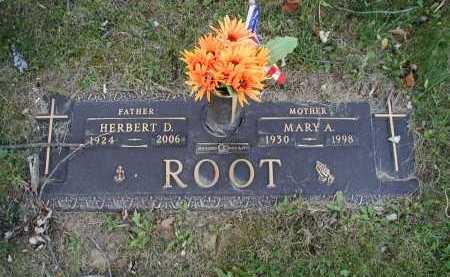 ROOT, MARY A. - Douglas County, Nebraska | MARY A. ROOT - Nebraska Gravestone Photos