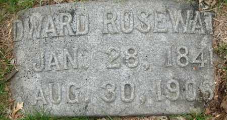 ROSEWATER, EDWARD - Douglas County, Nebraska | EDWARD ROSEWATER - Nebraska Gravestone Photos