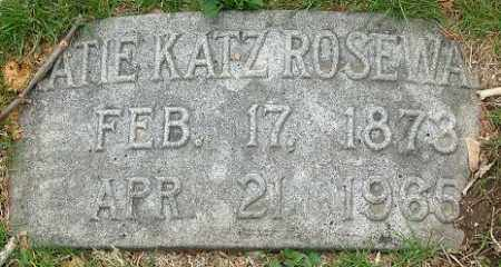 ROSEWATER, KATE - Douglas County, Nebraska | KATE ROSEWATER - Nebraska Gravestone Photos