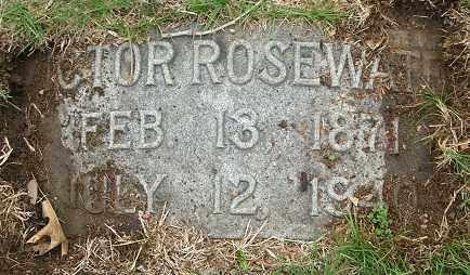 ROSEWATER, VICTOR - Douglas County, Nebraska | VICTOR ROSEWATER - Nebraska Gravestone Photos