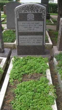 RUBENSTEIN, SARAH - Douglas County, Nebraska | SARAH RUBENSTEIN - Nebraska Gravestone Photos