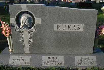 RUKAS, VLASTA A. - Douglas County, Nebraska   VLASTA A. RUKAS - Nebraska Gravestone Photos