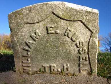 RUSSELL, WILLIAM E. - Douglas County, Nebraska | WILLIAM E. RUSSELL - Nebraska Gravestone Photos