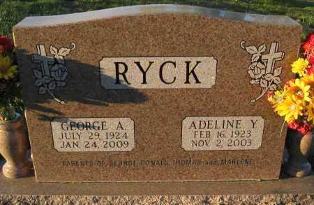 RYCK, GEORGE A. - Douglas County, Nebraska | GEORGE A. RYCK - Nebraska Gravestone Photos