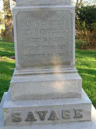 SALAVAGE, JAMES WOODUFF - Douglas County, Nebraska | JAMES WOODUFF SALAVAGE - Nebraska Gravestone Photos