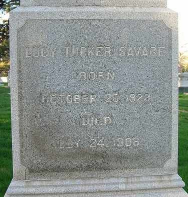 TUCKER SALAVAGE, LUCY - Douglas County, Nebraska   LUCY TUCKER SALAVAGE - Nebraska Gravestone Photos