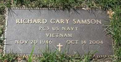 SAMSON, RICHARD GARY - Douglas County, Nebraska | RICHARD GARY SAMSON - Nebraska Gravestone Photos