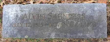 SAUNDERS, ALVIN - Douglas County, Nebraska | ALVIN SAUNDERS - Nebraska Gravestone Photos