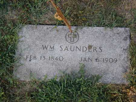 SAUNDERS, WILLIAM - Douglas County, Nebraska | WILLIAM SAUNDERS - Nebraska Gravestone Photos