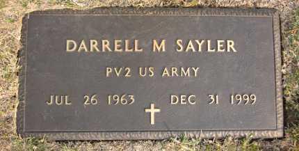 SAYLER, DARRELL M. - Douglas County, Nebraska   DARRELL M. SAYLER - Nebraska Gravestone Photos