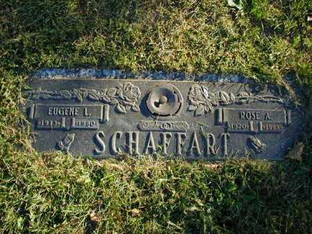 SCHAFFART, EUGENE L - Douglas County, Nebraska | EUGENE L SCHAFFART - Nebraska Gravestone Photos