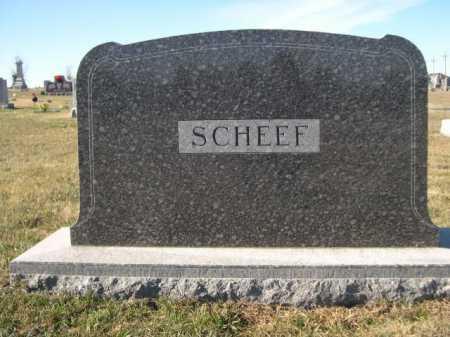 SCHEEF, FAMILY - Douglas County, Nebraska | FAMILY SCHEEF - Nebraska Gravestone Photos
