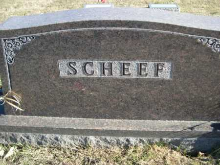 SCHEEF, FAMILY - Douglas County, Nebraska   FAMILY SCHEEF - Nebraska Gravestone Photos