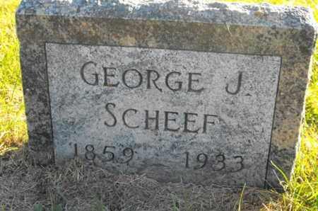 SCHEEF, GEORGE - Douglas County, Nebraska   GEORGE SCHEEF - Nebraska Gravestone Photos