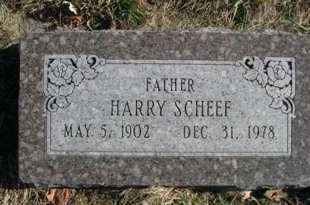 SCHEEF, HARRY - Douglas County, Nebraska | HARRY SCHEEF - Nebraska Gravestone Photos