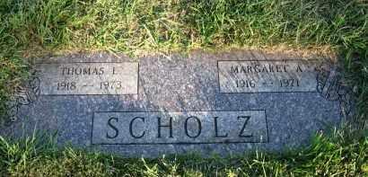 SCHOLZ, MARGARET A - Douglas County, Nebraska | MARGARET A SCHOLZ - Nebraska Gravestone Photos