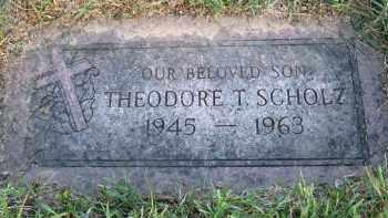 SCHOLZ, THEODORE T - Douglas County, Nebraska | THEODORE T SCHOLZ - Nebraska Gravestone Photos