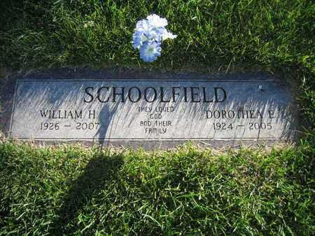 SCHOOLFIELD, WILLIAM H - Douglas County, Nebraska | WILLIAM H SCHOOLFIELD - Nebraska Gravestone Photos