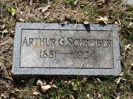 SCHREIBER, ARTHUR G. - Douglas County, Nebraska | ARTHUR G. SCHREIBER - Nebraska Gravestone Photos
