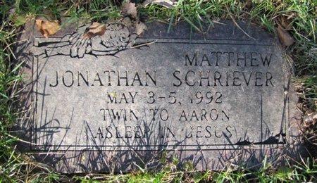 SCHRIEVER, MATTHEW JONATHAN - Douglas County, Nebraska | MATTHEW JONATHAN SCHRIEVER - Nebraska Gravestone Photos