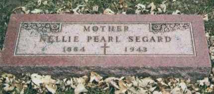 SEGARD, NELLIE - Douglas County, Nebraska   NELLIE SEGARD - Nebraska Gravestone Photos