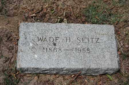 SEITZ, WADE H. - Douglas County, Nebraska | WADE H. SEITZ - Nebraska Gravestone Photos