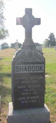 SHABOOK, SADIE - Douglas County, Nebraska | SADIE SHABOOK - Nebraska Gravestone Photos