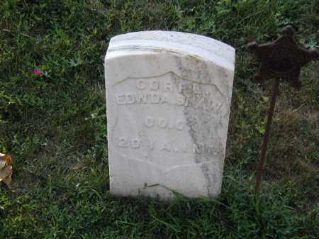SHAW, EDWARD A - Douglas County, Nebraska | EDWARD A SHAW - Nebraska Gravestone Photos