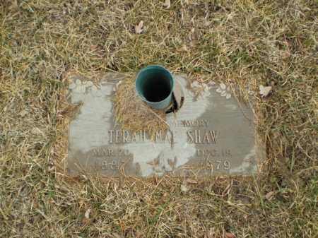 SHAW, TERAH MAE - Douglas County, Nebraska   TERAH MAE SHAW - Nebraska Gravestone Photos