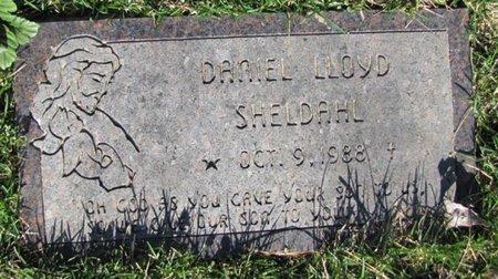 SHELDAHL, DANIEL LLOYD - Douglas County, Nebraska | DANIEL LLOYD SHELDAHL - Nebraska Gravestone Photos