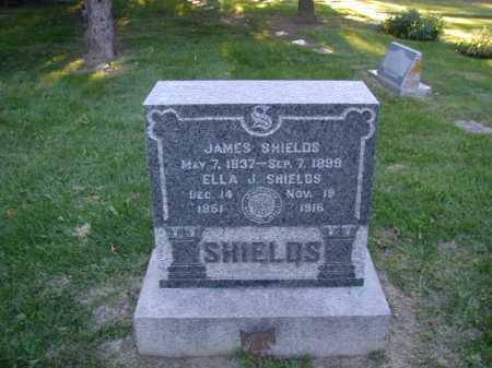 SHIELDS, ELLA J - Douglas County, Nebraska   ELLA J SHIELDS - Nebraska Gravestone Photos