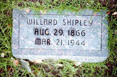 SHIPLEY, WILLARD PERRY - Douglas County, Nebraska | WILLARD PERRY SHIPLEY - Nebraska Gravestone Photos