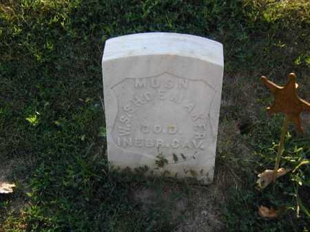 SHOEMAKER, WILSON S - Douglas County, Nebraska   WILSON S SHOEMAKER - Nebraska Gravestone Photos