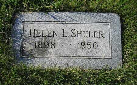 SHULER, HELEN LOUISE - Douglas County, Nebraska   HELEN LOUISE SHULER - Nebraska Gravestone Photos