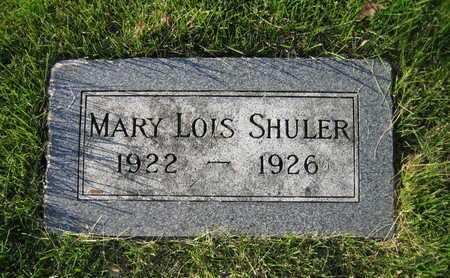 SHULER, MARY LOIS - Douglas County, Nebraska | MARY LOIS SHULER - Nebraska Gravestone Photos