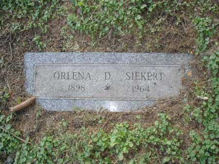 SIEKERT, ORLENA D. - Douglas County, Nebraska | ORLENA D. SIEKERT - Nebraska Gravestone Photos